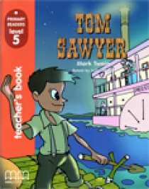 Primary Reader Level 5 Tom Sawyer, Teacher's book with Audio CD