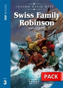 Top Readers Level 3 Swiss Family Robinson Student's Book+CD (Inc.Glossary)